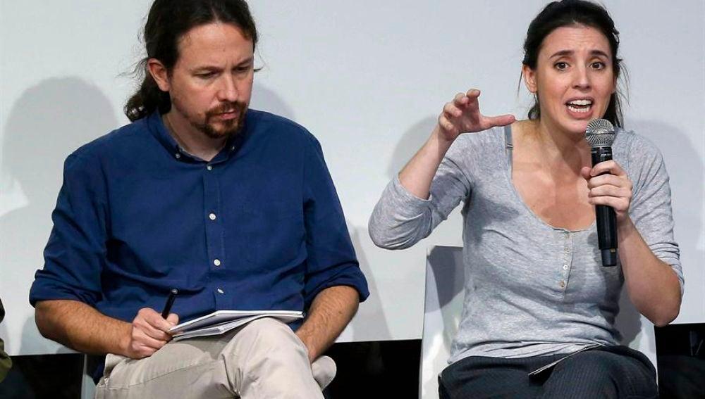 """Irene Montero, sobre la presunta financiación irregular de Podemos: """"Nunca  han encontrado un indicio de delito"""""""