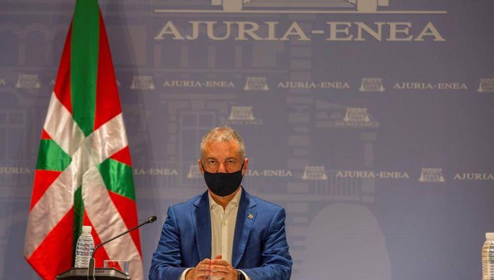 Restricciones País Vasco: El lehendakari Iñigo Urkullu