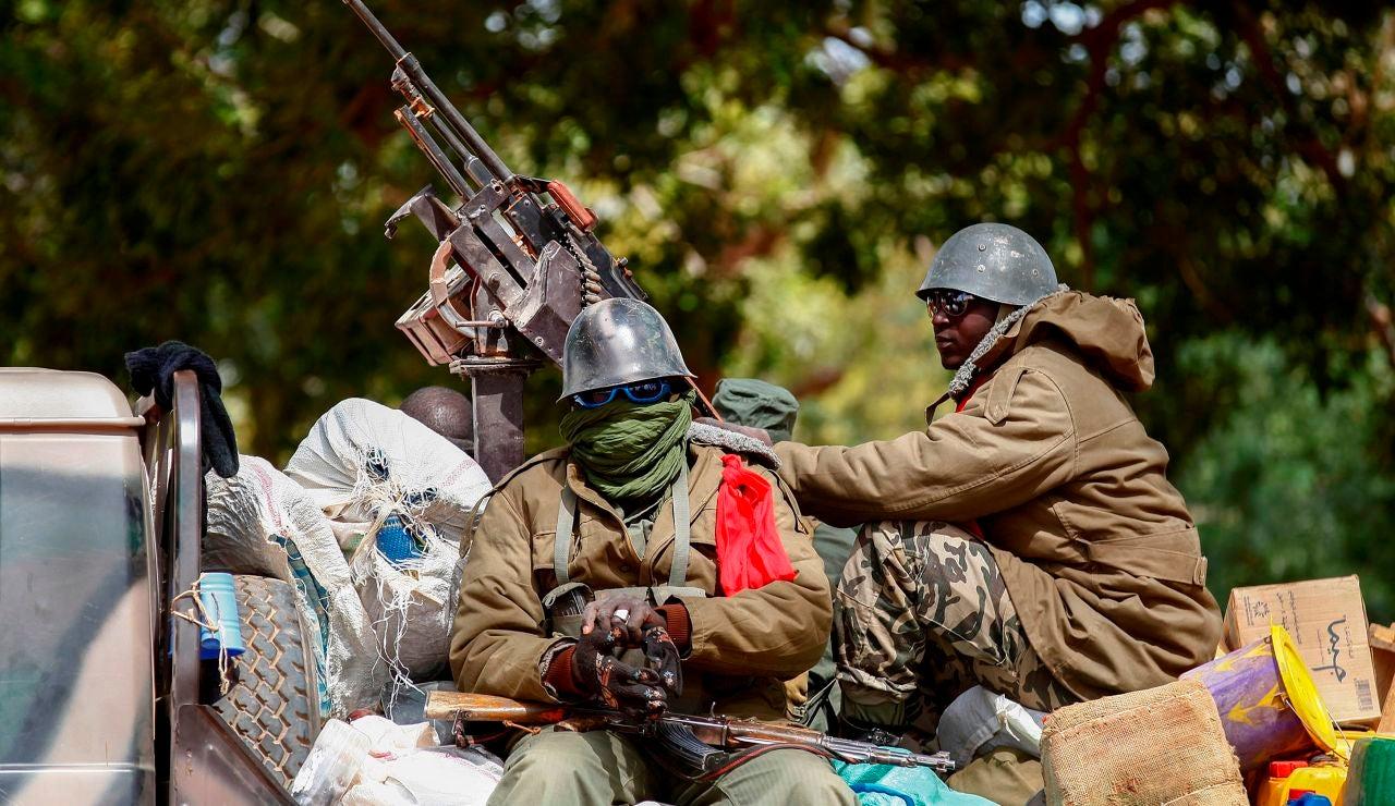 Golpistas en Mali