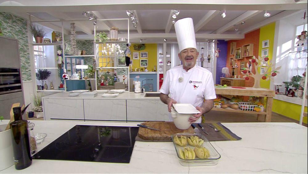 """La receta más sublime de Karlos Arguiñano: """"Pedazo de patata que nos vamos a comer"""""""