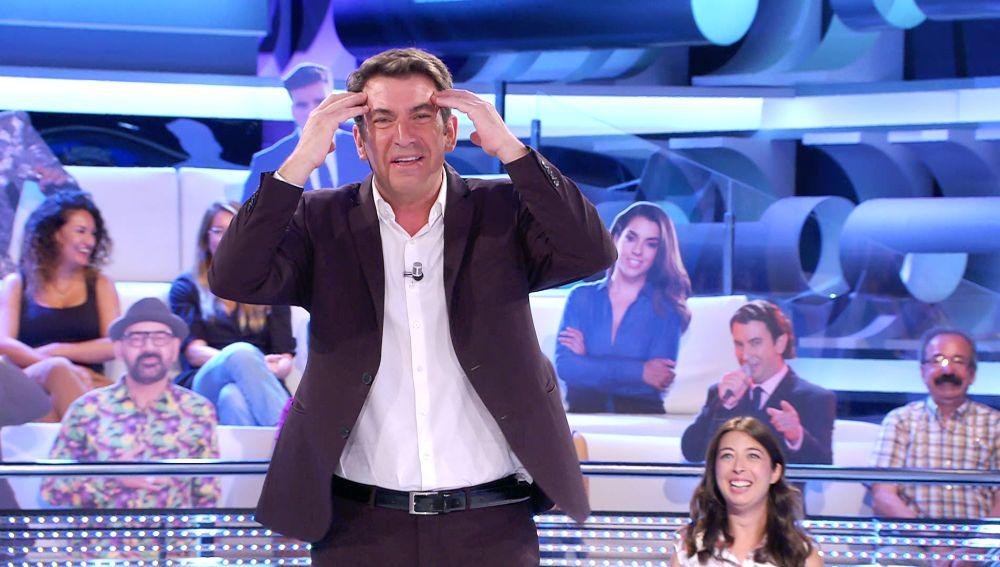 """""""¡Me he vuelto loco!"""": El gran susto de Arturo Valls por una presencia inesperada en '¡Ahora caigo!'"""