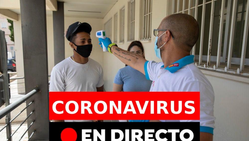 Coronavirus en España hoy: Última hora de los rebrotes, datos y últimas noticias del miércoles 19 de agosto, en directo