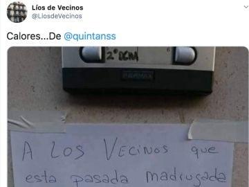 Twitter de Líos de Vecinos