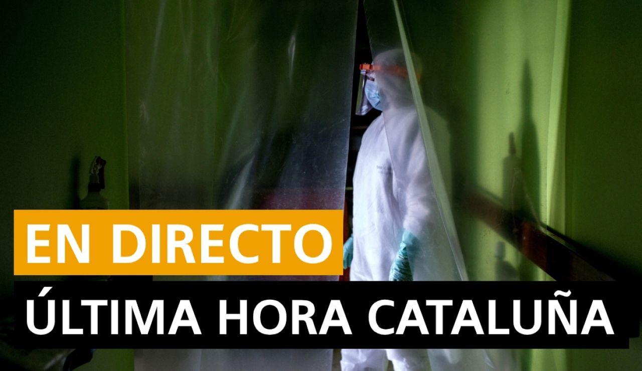 Última hora Cataluña: Coronavirus, rebrotes y últimas noticias
