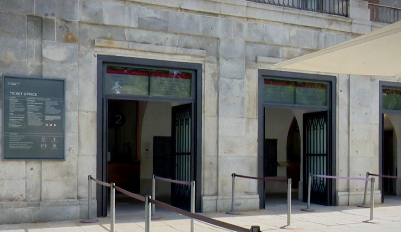 Salas vacías en los museos  ante la falta de turistas extranjeros debido al coronavirus
