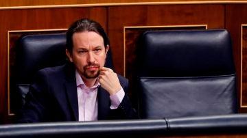 El vicepresidente del Gobierno, Pablo Iglesias, en una imagen de archivo.