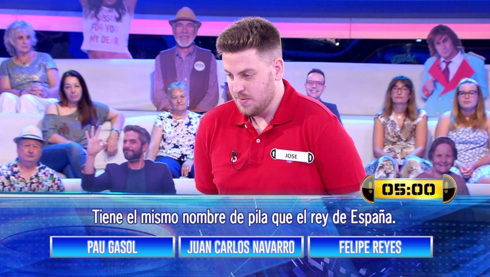 ¿Te crees un experto en baloncesto? Pau Gasol, Juan Carlos Navarro y Felipe Reyes te ponen a prueba en '¡Ahora caigo!'