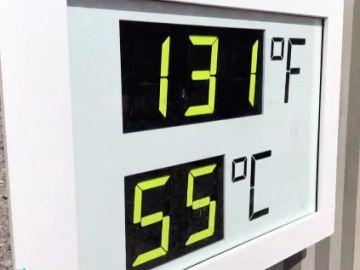 El valle de la muerte, la zona más calurosa de la tierra que ha llegado a alcanzar los 56 grados de temperatura