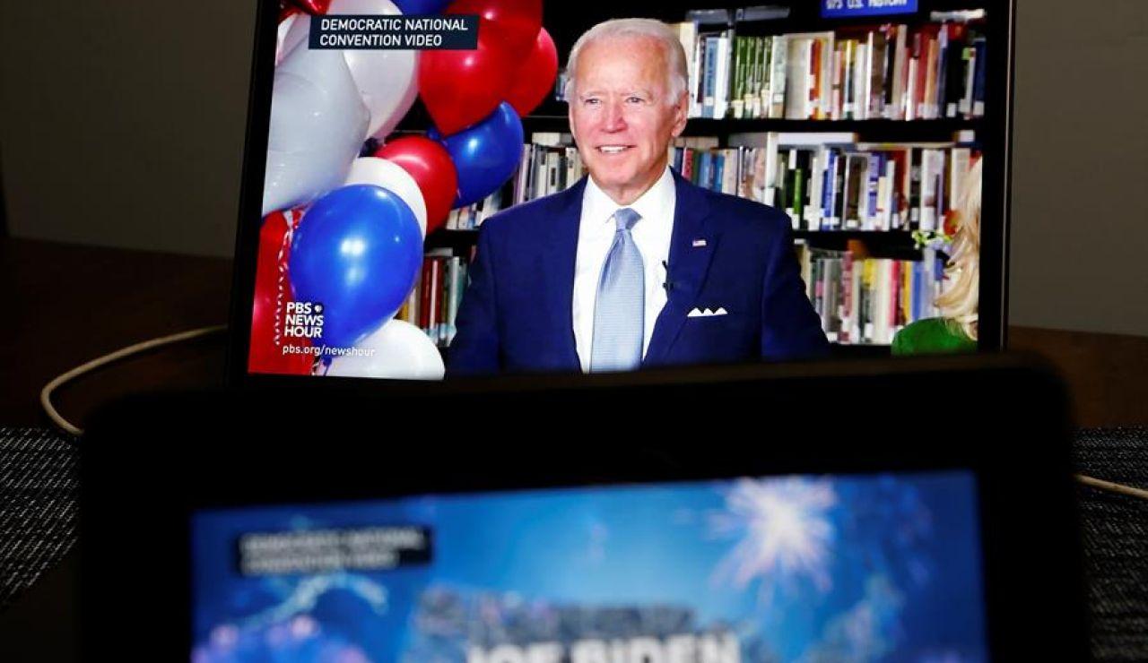 Joe Biden ha sido elegido,oficialmente, candidato demócrata a la Casa Blanca