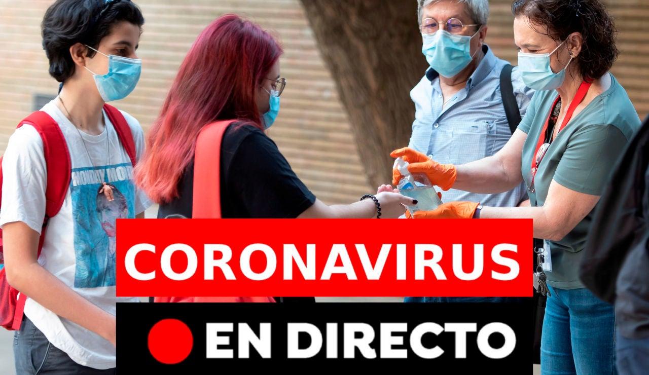 Coronavirus España: Última hora de los rebrotes y últimas noticias de hoy jueves 20 de agosto, en directo