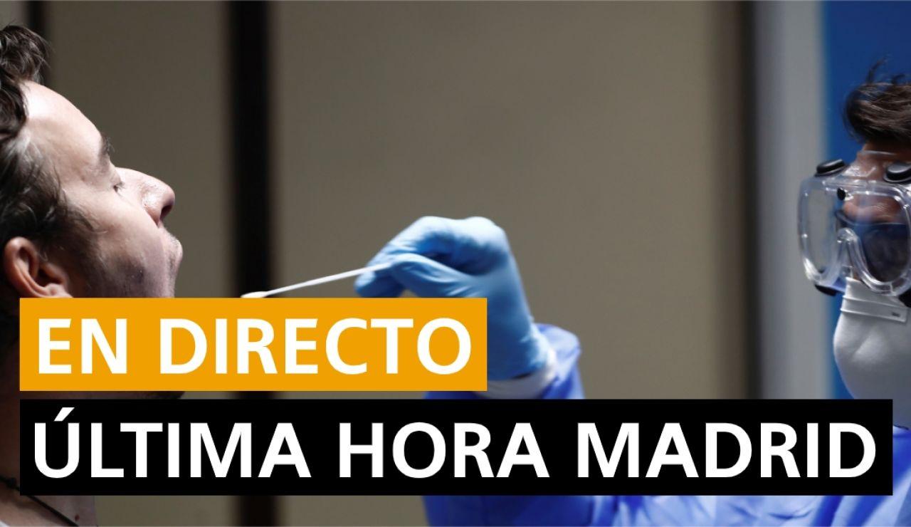 Coronavirus Madrid, última hora