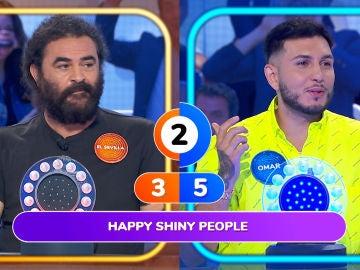 """El divertido enfado de Omar Montes y El Sevilla en 'La Pista': """"¿No ponéis música buena en este programa?"""""""