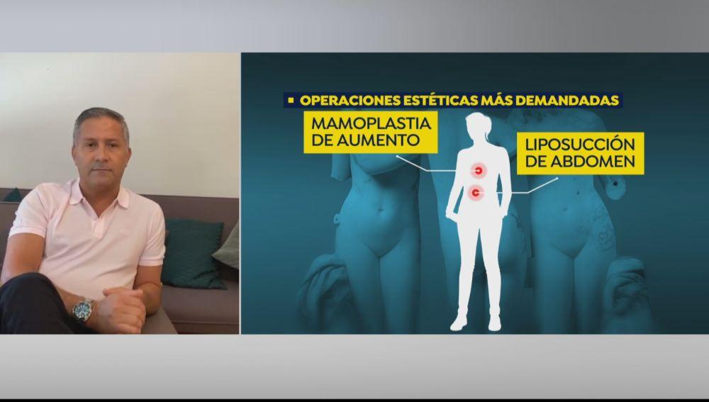 """Norman Blanco, cirujano plástico: """"Se están pidiendo muchas liposucciones para tener un aspecto atlético"""""""