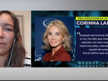 """Esperanza Escribano, periodista de la BBC,sobre la entrevista a Corinna Larsen: """"No hubo condiciones"""""""