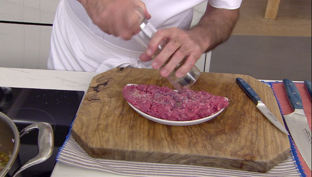 El consejo de Arguiñano para que la carne picada no se te oxide