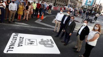 Peatonalización de la Puerta del Sol