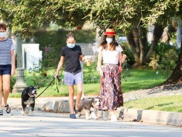 Parece que Ana de Armas y  la hija de Ben Affleck se llevan de maravilla