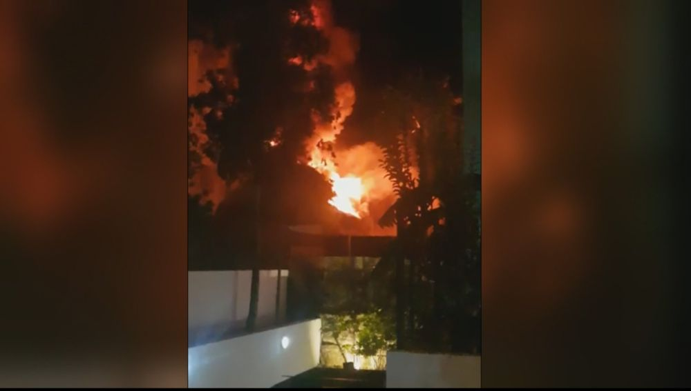 Un muerto y varios heridos en el incendio de un hotel en Marbella