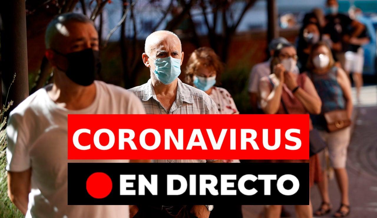 Coronavirus en España, en directo: Última hora de los rebrotes y la vuelta al cole