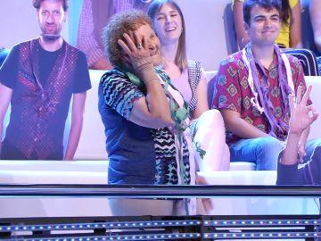 ¡Qué bajón! El fallo de una concursante que deja a Palmira sin poder bailar en '¡Ahora caigo!'