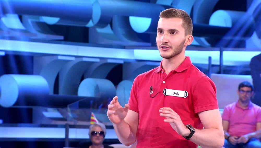 El increíble presagio de un concursante con un número gracias a una superstición: ¿se cumple en '¡Ahora caigo!'?