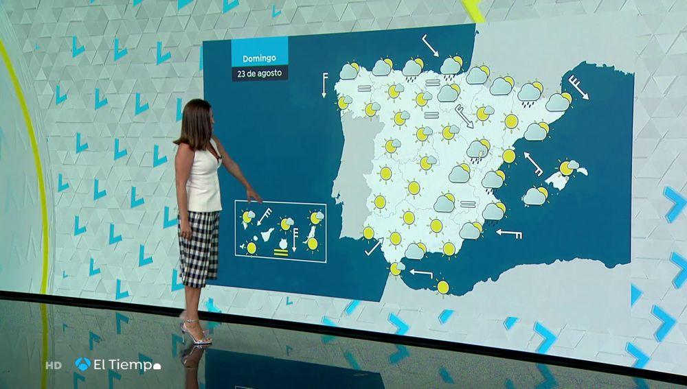 Tu Tiempo (22-08-20) Continúa el calor en el sureste peninsular y Canarias