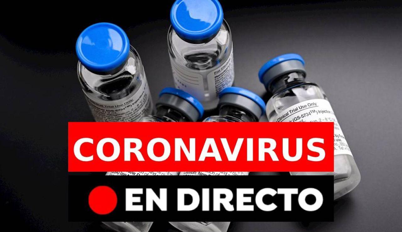 Coronavirus hoy: Última hora, rebrotes en España y últimas noticias, en directo