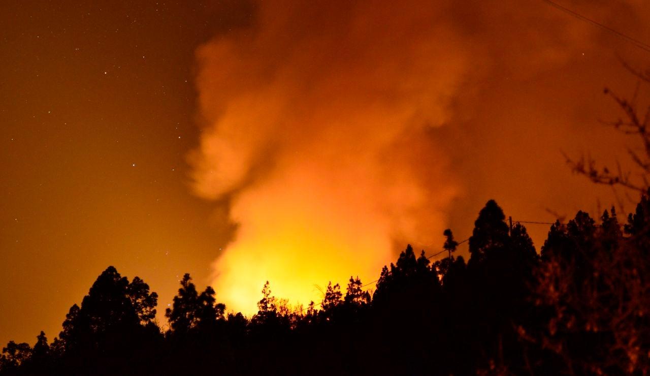Imagen del incendio de La Palma