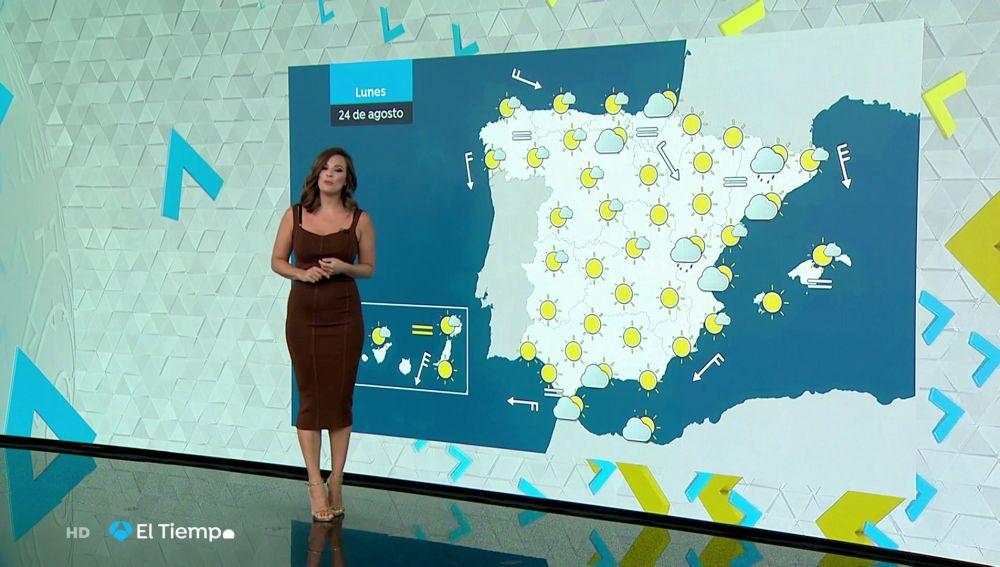 Tu Tiempo (23-08-20) Calor en el valle del Guadalquivir y las Canarias