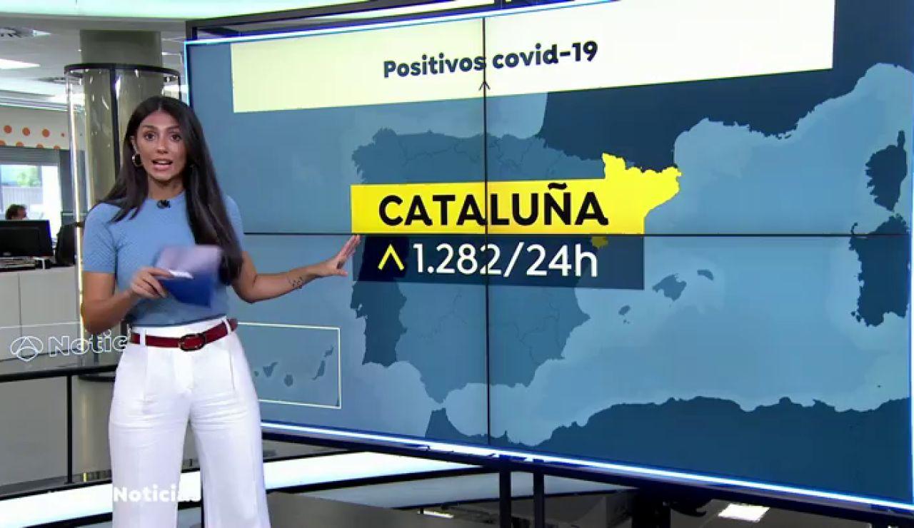 La transmisión del coronavirus se concentra en cuatro comunidades: Madrid, Cataluña, País Vasco y Andalucía