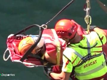 """El espectacular rescate de una mujer en un barranco de Castellón: """"La única forma era con helicóptero"""""""