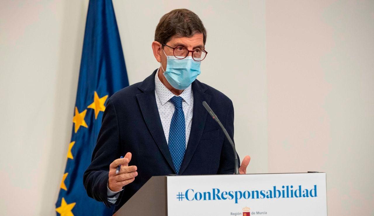 El consejero de salud de la Comunidad de Murcia, Manuel Villegas.