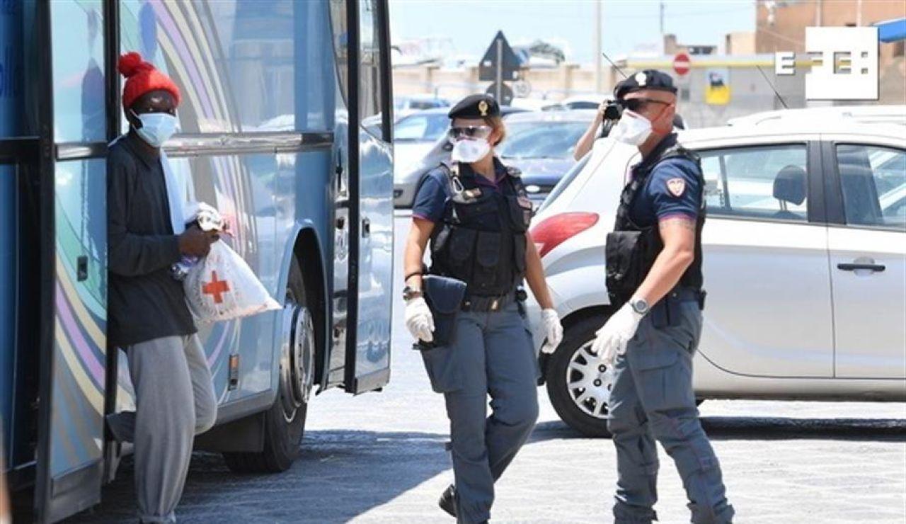 Sicilia ordena la salida inmediata de los inmigrantes ilegales de la isla