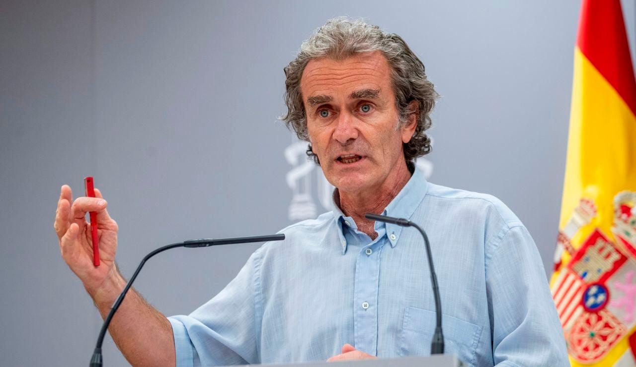 """Fernando Simón: """"Si la incidencia sigue subiendo habrá que tomar medidas drásticas, no sé si confinamiento"""""""