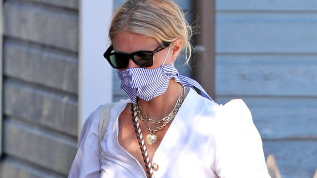 Gwyneth Paltrow luciendo un look de lo más casual