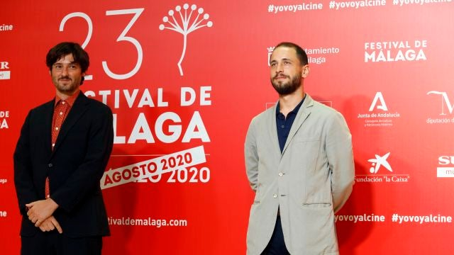 Entrega premio Málaga Talent en el Festival de Málaga