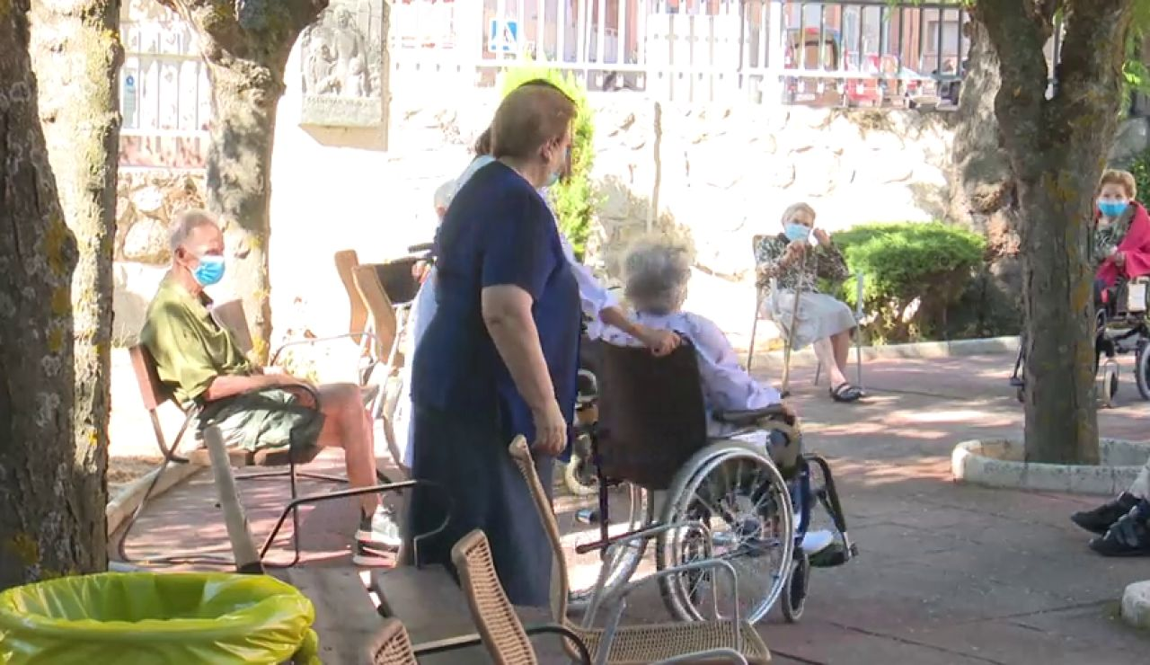 Los gestores de residencias de mayores dicen que están en la misma situación que en marzo por el coronavirus
