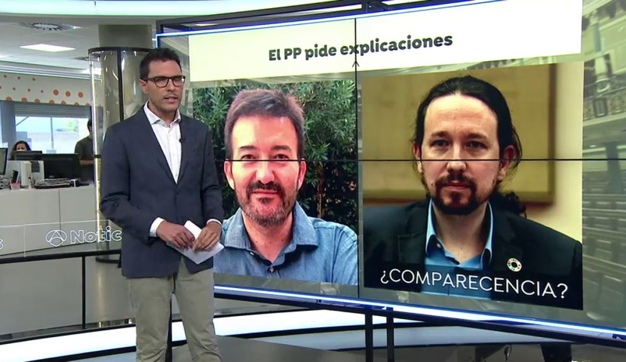 """El PP dice que si se impide la comisión de investigación de las cuentas de Podemos significará que """"la corrupción está en el Gobierno"""""""
