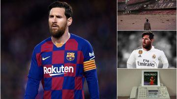 Los mejores memes sobre la salida de Leo Messi del Barcelona