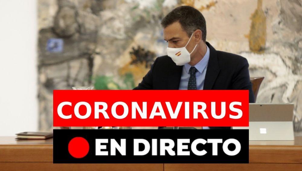 Coronavirus España: Comparecencia Pedro Sánchez hoy, en directo