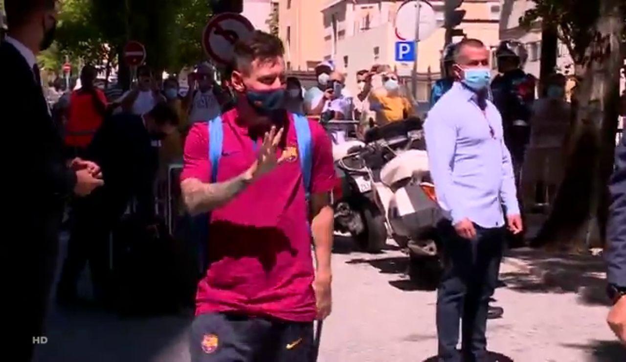 Leo Messi comunica al Barcelona que quiere irse del club