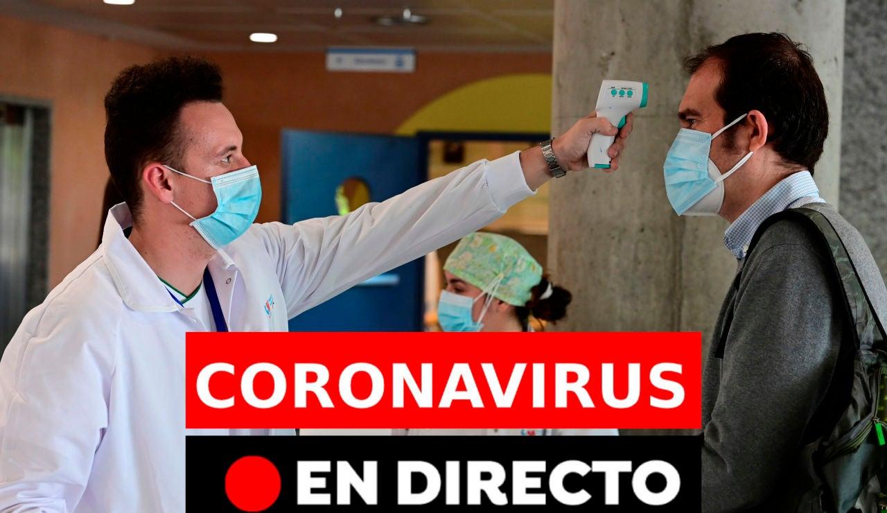 Coronavirus España: Rebrotes, datos y noticias de hoy martes 25 de agosto, en directo