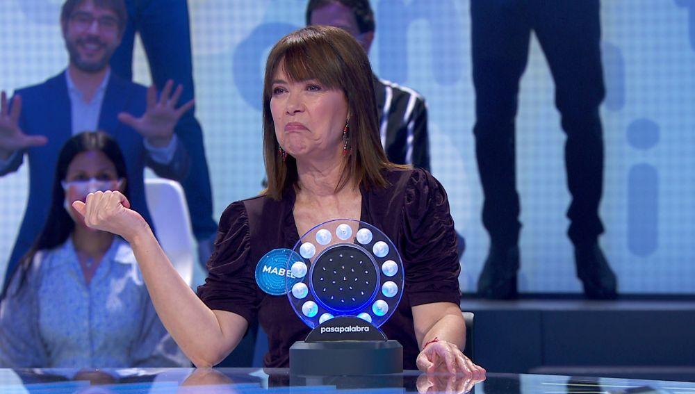 La picaresca de Mabel Lozano: asegura que sólo se sabe una canción para acabar ganando a Lara Dibildos en 'La pista'