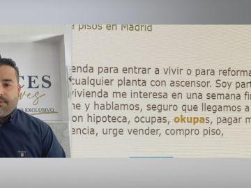 """Iban Carrillo, trabajador de una empresa de desokupación: """"Nosotros ni usamos la fuerza ni allanamos la morada"""""""