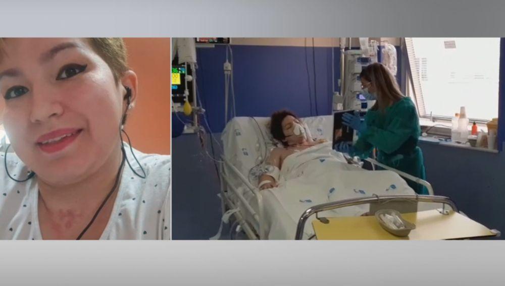 """Anshy, de 24 años, se contagió de coronavirus y estuvo un mes en la UCI: """"Lo que sufrí no se lo deseo ni a mi peor enemigo"""""""