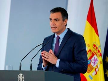 Comparecencia de Pedro Sánchez tras el Consejo de Ministros hoy martes 25 de agosto, streaming en directo