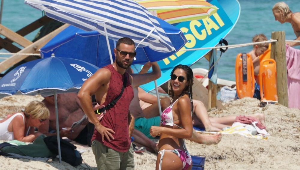 Lara Álvarez y su nueva ilusión en la playa de Formentera