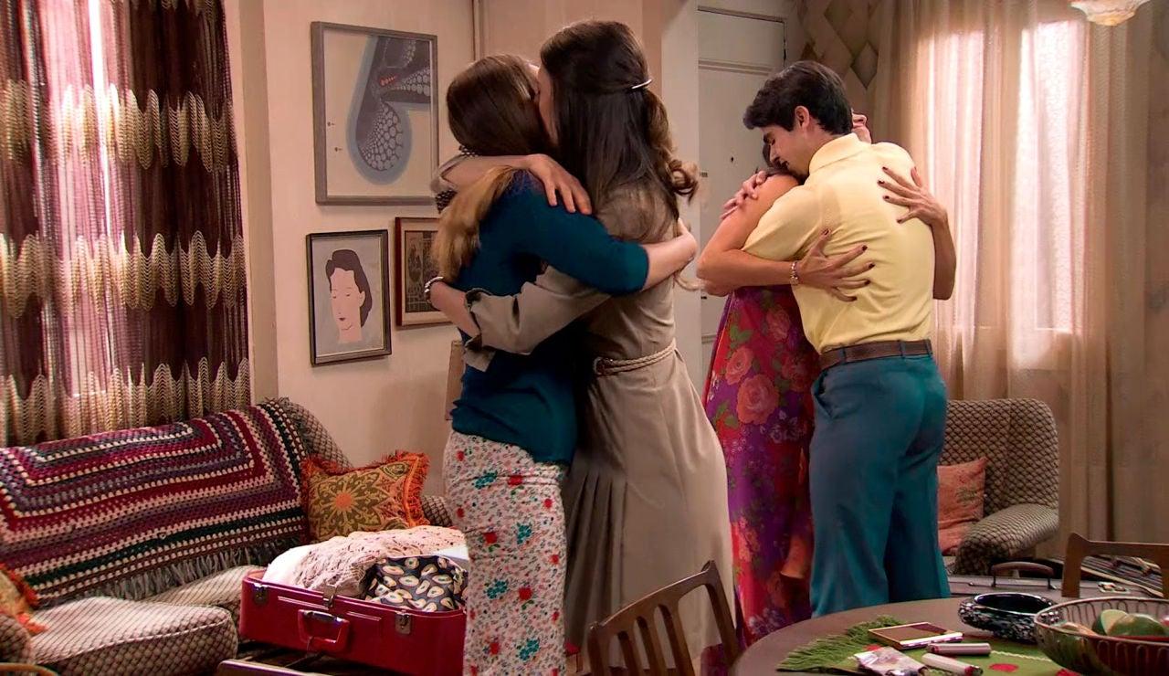 """Marina y Mateo se despiden de Luisita y Amelia: """"Que la amistad nunca se rompa, ha sido un placer"""""""
