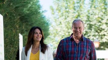 Bertín Osborne y Fabiola Martínez