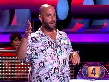 ¡Boom!: La presentación rapera de un concursante que deja boquiabierto a Arturo Valls en '¡Ahora caigo!'